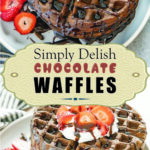 Simply Delish Chocolate Waffles