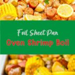 Foil Sheet Pan Oven Shrimp Boil