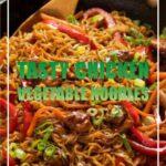 Tasty Chicken Vegetable Noodles