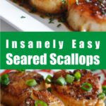 Insanely Easy Seared Scallops
