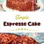 Simple Espresso Cake