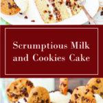 Scrumptious Milk and Cookies Cake