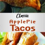Classic Apple Pie Tacos