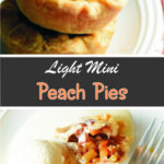 Light Mini Peach Pies