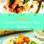 Creamy Chicken Cordon Bleu Soup
