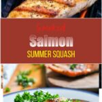 Smoked Salmon Summer Squash
