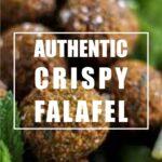 Authentic crispy Falafel