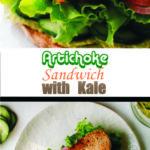 Artichoke Sandwich with Kale
