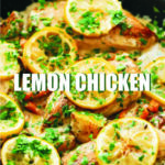 Mouthwatering Lemon Chicken Skillet