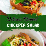 Delicious Chopped Chickpea Salad
