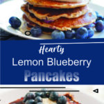 Hearty Lemon Blueberry Pancakes