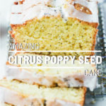 Amazing Citrus Poppy Seed Cake