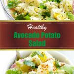 Healthy Avocado Potato Salad