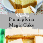 Melting Pumpkin Magic Cake