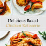 Delicious Baked Chicken Rotisserie